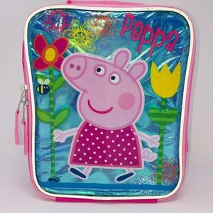 Peppa Pig Lunch Kit Bag Insulated Lunch Box Kit